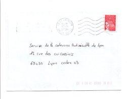 PETITS BUREAUX - OBLITERATION DE SAINT SAUVEUR HAUTE SAONE 2004 - Marcophilie (Lettres)