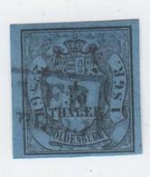 Oldenburg , Nr 2   Gestempelt - Oldenburg