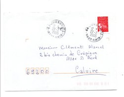 PETITS BUREAUX - OBLITERATION DE JUNGHOLTZ HAUT RHIN 2005 - Marcofilia (sobres)