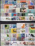 40 Motiv-Sets DDR 1978+1979 ** 115€ Tiere Kunst Vögel Sport Fauna Art Person Space Olympic Flora Set Of GDR Germany - Stamps