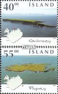 Island Mi.-Nr.: 994-995 (kompl.Ausg.) Postfrisch 2001 Inseln - 1944-... Republik