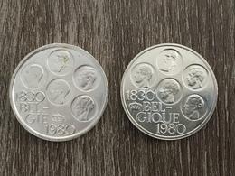 1980 - 2 Coins 500 Francs - Boudewijn I - 1951-1993: Baudouin I