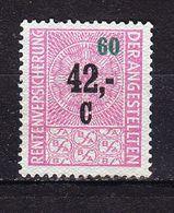 Marke, Rentenversicherung Der Angestellten (53091) - Gebührenstempel, Impoststempel