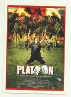PLATOON FILM PICCOLA LOCANDINA CM. 14X10 - Other Collections