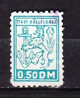 Gebuehrenmarke, Loewe, Stadt Duesseldorf, 50 Pfg (53093) - Gebührenstempel, Impoststempel
