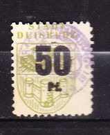 Gebuehrenmarke, Wappen, Stadt Duisburg, 50 Pfg (53094) - Gebührenstempel, Impoststempel