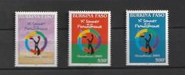 Burkina Faso 2004 French Speaking Countries S/s - Burkina Faso (1984-...)