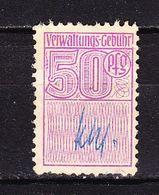 Gebuehrenmarke, 50 Pfg (53095) - Gebührenstempel, Impoststempel