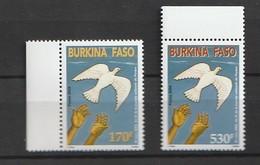 Burkina Faso 2004 National Pardon Day 2v Mnh - Burkina Faso (1984-...)