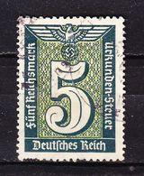 Gebuehrenmarke, Urkunden-Steuer, 5 Reichsmark (53096) - Gebührenstempel, Impoststempel