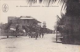 Souvenir De DJIBOUTI - La Route D'Amboail - Animé - TBE - Djibouti