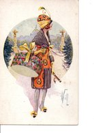"Illustrateur  WILL.  ""Silhouettes"", Fantaisies Trichromes. Paris N°171. - Ilustradores & Fotógrafos"