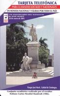 UR-010 TARJETA DE CUBA URMET DE MONUMENTO JOSE MARTI  $3 - Cuba