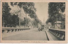 Pnom-Penh - Le Pont Des Nagas Et Le Phnom - & Elephant - Cambodia