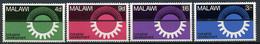 1967 - MALAWI - Mi. Nr. 72/75 - NH - (CW4755.15) - Malawi (1964-...)