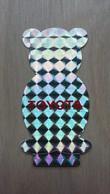 Interessant Irisierender Aufkleber Von TOYOTA (in Bärchen-Form) - Stickers