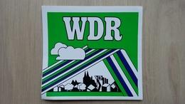 Aufkleber Mit Werbung Für Den WDR (Rundfunksender) - Aufkleber