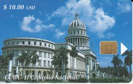 147 TARJETA DE CUBA DE EL CAPITOLIO NACIONAL - Cuba