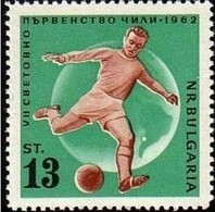 World Cup Of Football Chili - Bulgaria / Bulgarie 1962 Year - Stamp MNH** - Coupe Du Monde