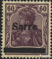 Saarland 14b I Postfrisch 1920 Germania - 1920-35 Saargebiet – Abstimmungsgebiet
