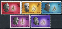 1968 - MONTSERRAT - Mi. Nr. 202/206 - NH - (CW4755.15) - Mauritius (1968-...)