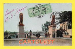 Egypt, Kasre El Nile Bridge 1910 Postcard - Cartes Postales
