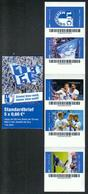 Deutschland Biberpost MH 'Fußball, 1. FC Magdeburg' / Germany Booklet 'Soccer, 1. FC Magdeburg' **/MNH 2018 - Clubs Mythiques