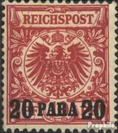 Allemand. Post Turquie 7d Testés Oblitéré 1889 émision De Surcharge - Bureau: Turquie
