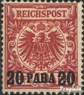 Allemand. Post Turquie 7b Testés Oblitéré 1890 émision De Surcharge - Bureau: Turquie