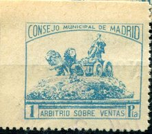 LOCALES    Madrid       Nº  70     Matasellado  -347 - Vignette Della Guerra Civile