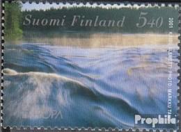 Finlande 1566 (complète.Edition.) Oblitéré 2001 Donneur De Vie Eau - Usati