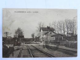 CPA (94) Val De Marne - VILLECRESNES - LA GARE - Villecresnes