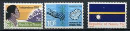 1968/69 - NAURU - Mi. Nr. 83/85 - NH - (CW4755.16) - Nauru