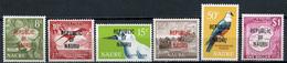 1968 - NAURU - Mi. Nr. 75/78+81/82 - NH - (CW4755.16) - Nauru