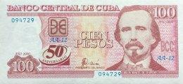 Kuba 100 Pesos, P-120 XF/AU Selten/Scarce - Kuba