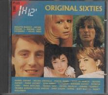 CD. ORIGINAL SIXTIES. Brigitte BARDOT - ROMUALD - France GALL - Dany LOGAN - Sylvie VARTAN - Leny ESCUDERO - Jean FERRAT - Hit-Compilations