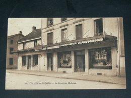 THAON LES VOSGES    1930   /    DEVANTURE COMMERCE BOUCHERIE     .....  EDITEUR - Thaon Les Vosges