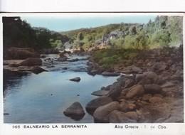 BALNEARIO LA SERRANITA. ALTA GRACIA, SIERA DE CORDOBA, 965. VOYAGEE. REP ARG- BLEUP - Argentina