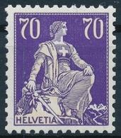 162z / 171z Helvetia Mit Schwert, Geriffeltes Papier, In Einwandfreier Postfrischer/** Erhaltung - Unused Stamps