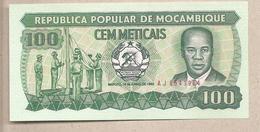 Mozambico - Banconota Non Circolata FdS Da 100 Meticais P-130a.1 - 1983 - Mozambico