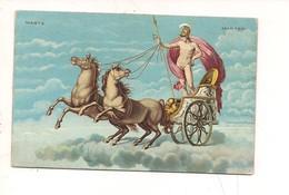 M6185 SETTIMANA MARTE MARTEDI' SBORGI EDITORE VIAGGIATA BIGA ROMANI - Astronomia