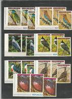 3x GUINEA - MNH - Animals - Birds - Imperf. - Oiseaux