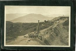 SERIE DE 7 CARTES PHOTO SUR LA CONSTRUCTION DE LA VOIE FERREE ENTRE PUENTE DE BOYACA ET SAMACA (ref 2466/72) - Colombie