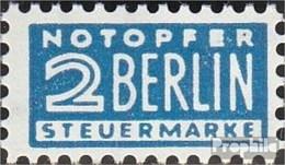 Bizonale (Allied Cast) Z3 Supplément Obligatoire Oblitéré 1950 Notopfer Berlin - Zone Anglo-Américaine