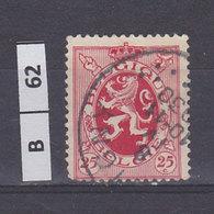BELGIO  1929Stemma Araldico 25 C Usato - 1929-1937 Heraldic Lion