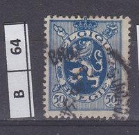 BELGIO  1929Stemma Araldico 50 C Usato - 1929-1937 Heraldic Lion