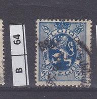BELGIO  1929Stemma Araldico 70 C Usato - 1929-1937 Heraldic Lion