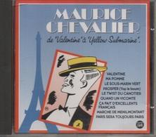 """CD. Maurice CHEVALIER De """"Valentine"""" à """"Yellow Submarine"""". Inclus LE TWIST DU CANOTIER Avec LES CHAUSSETTES NOIRES - - Compilations"""