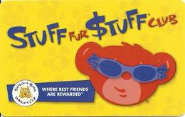 Stuff For $tuff Club - Build-A-Bear Workshop - Customer Loyalty Card - Other