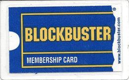 Blockbuster Membership Card - Customer Loyalty Card - Other